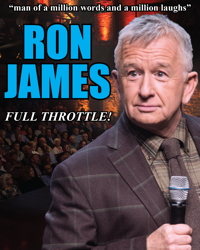 Ron James – Full Throttle