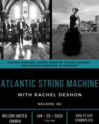 Atlantic String Machine with Rachel DeShon