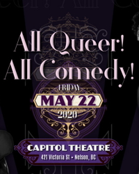 All Queer! All Comedy!