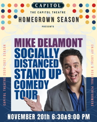 Socially Distanced Stand Up Comedy Tour