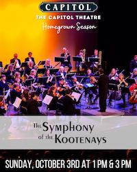 Symphony of the Kootenays – 1PM PERFORMANCE